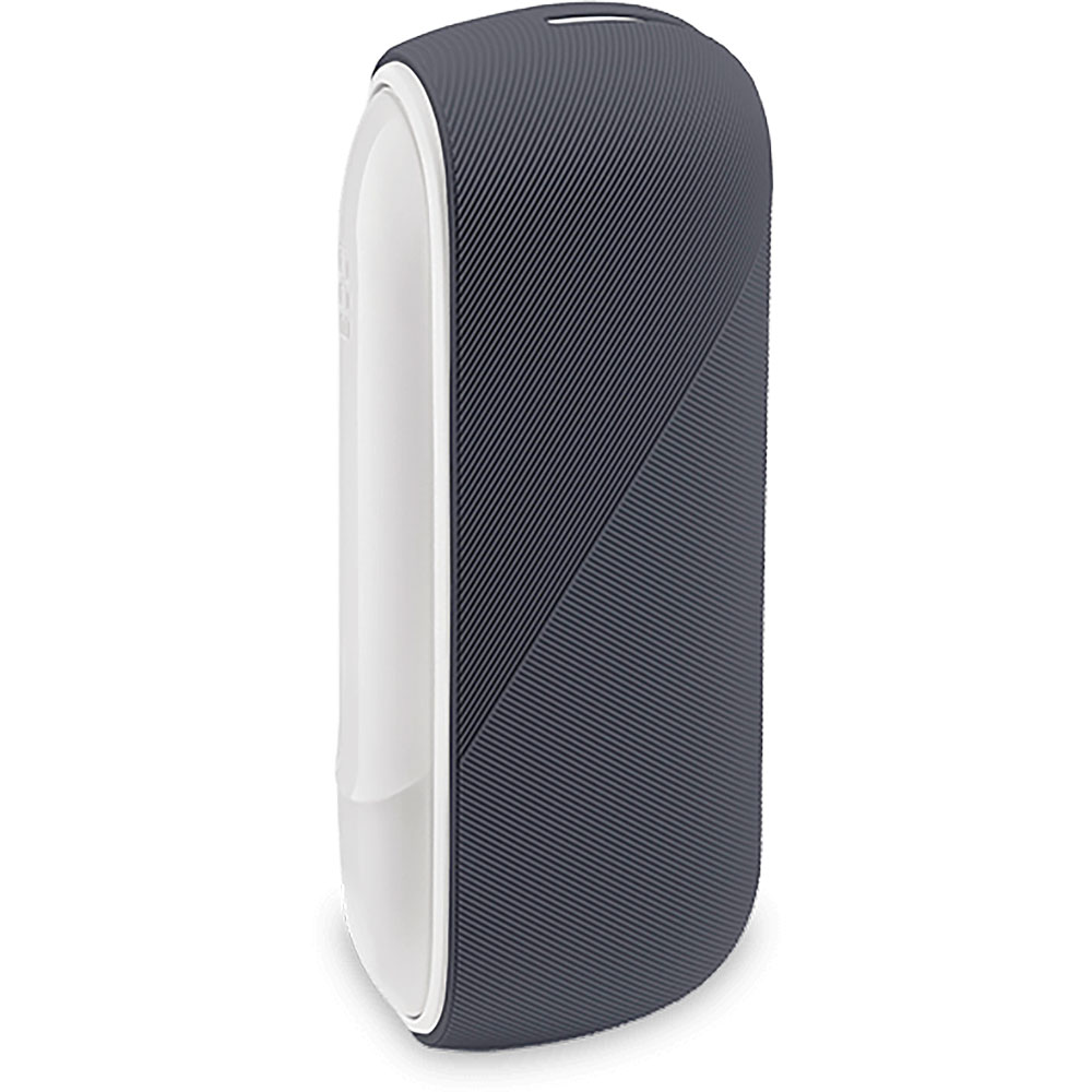 Silicon Sleeve Case for IQOS 3 Duo - Dark Pewter