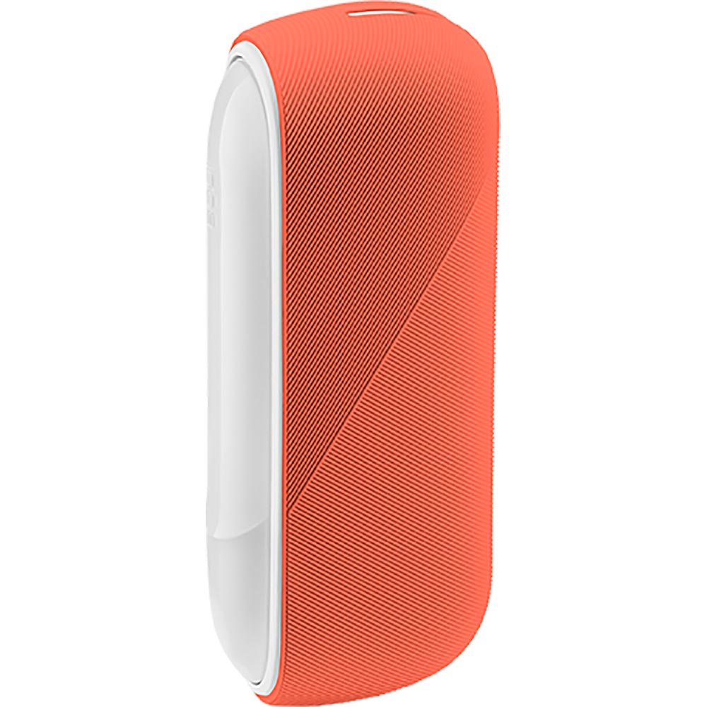 Silicon Sleeve Case for IQOS 3 Duo - Amber Orange