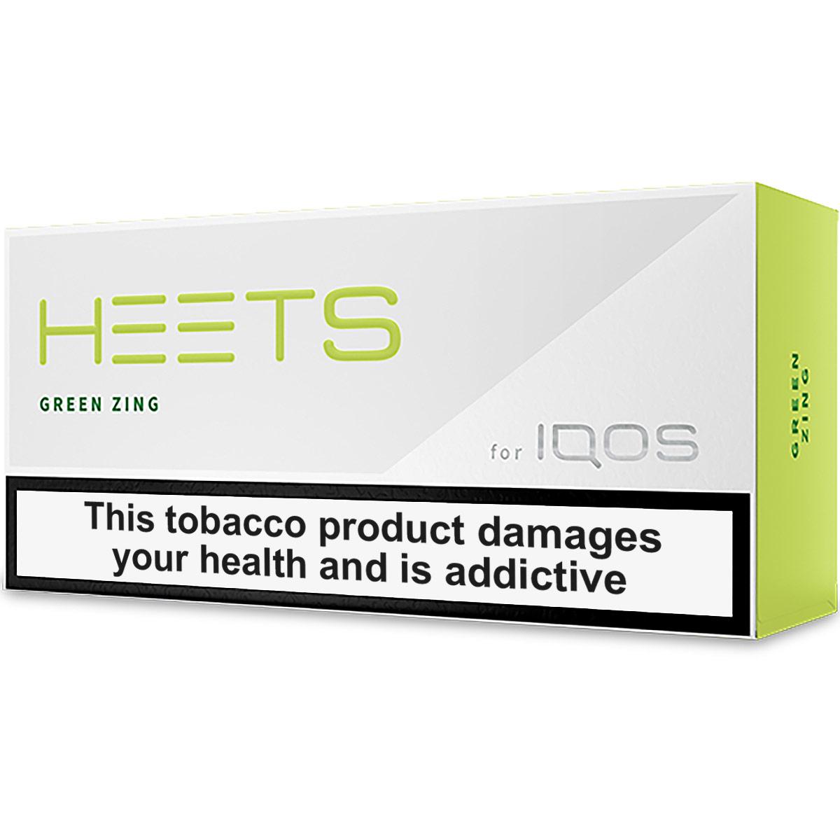Heets - Green Zing